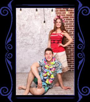 Моана и гаваец